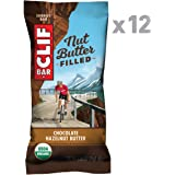 Clif Bar NUT BUTTER FILLED BAR Chocolate Hazelnut Butter (Box of 12), 600 g