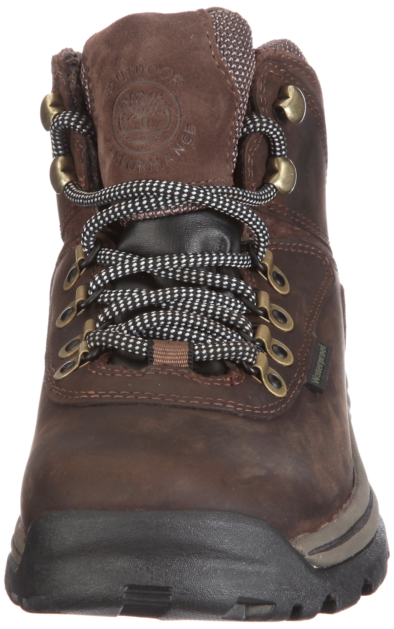 Timberland Women's White Ledge Mid Ankle Boot,Brown,9.5 W US by Timberland (Image #4)