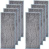 LesinaVac Paquete de 8 almohadillas de repuesto lavables y reutilizables, compatibles con iRobot Braava Jet M6 (6110) (6112)