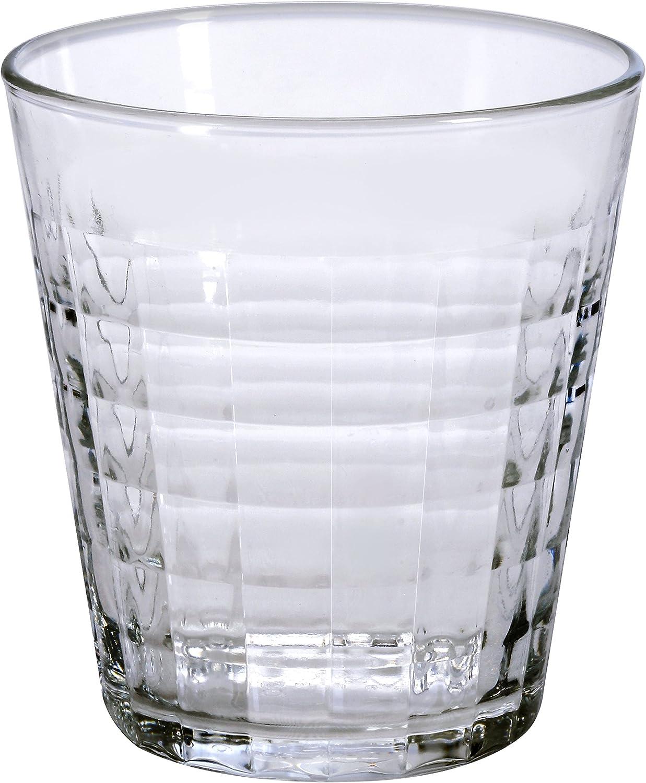 Duralex 1035 AB06 Prisma – Juego de 6 Vasos de Cristal (9,5 cm ...
