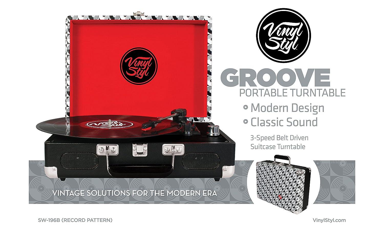 Vinyl Styl Turntable - Record Pattern: Amazon.es: Electrónica