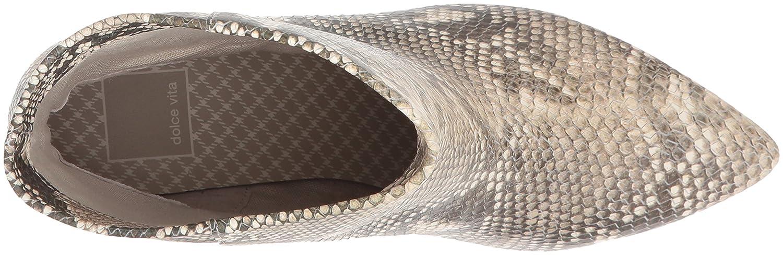 Dolce Vita Women's Deedee Ankle Boot Print B079Q9LJSK 6 B(M) US|Snake Print Boot Embossed Leather 7f2f5a