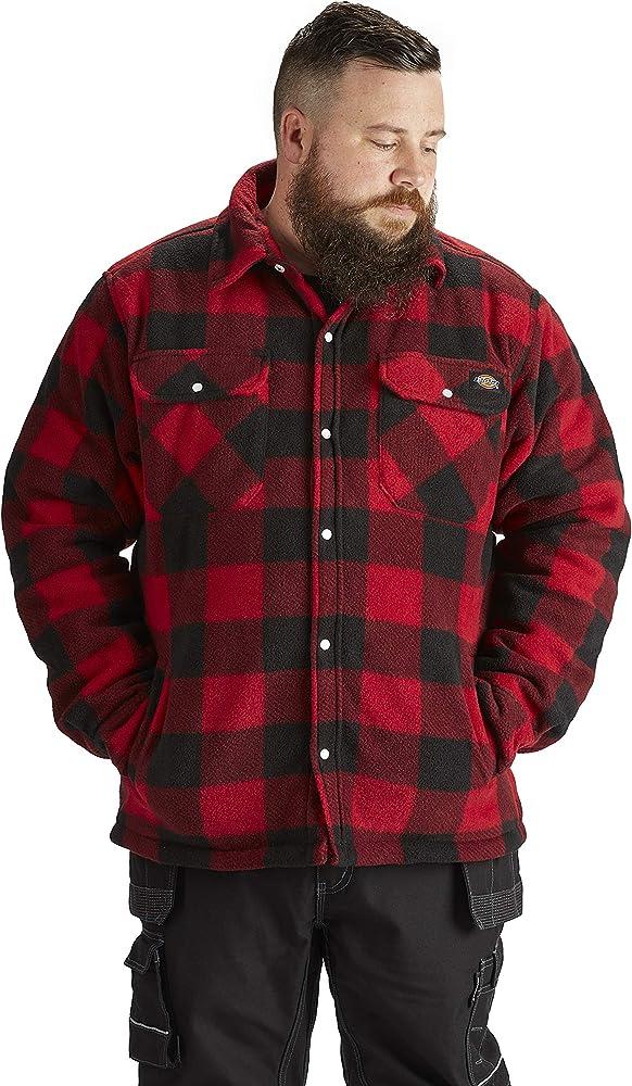 Camisa t/érmica Acolchada para Trabajo Dickies