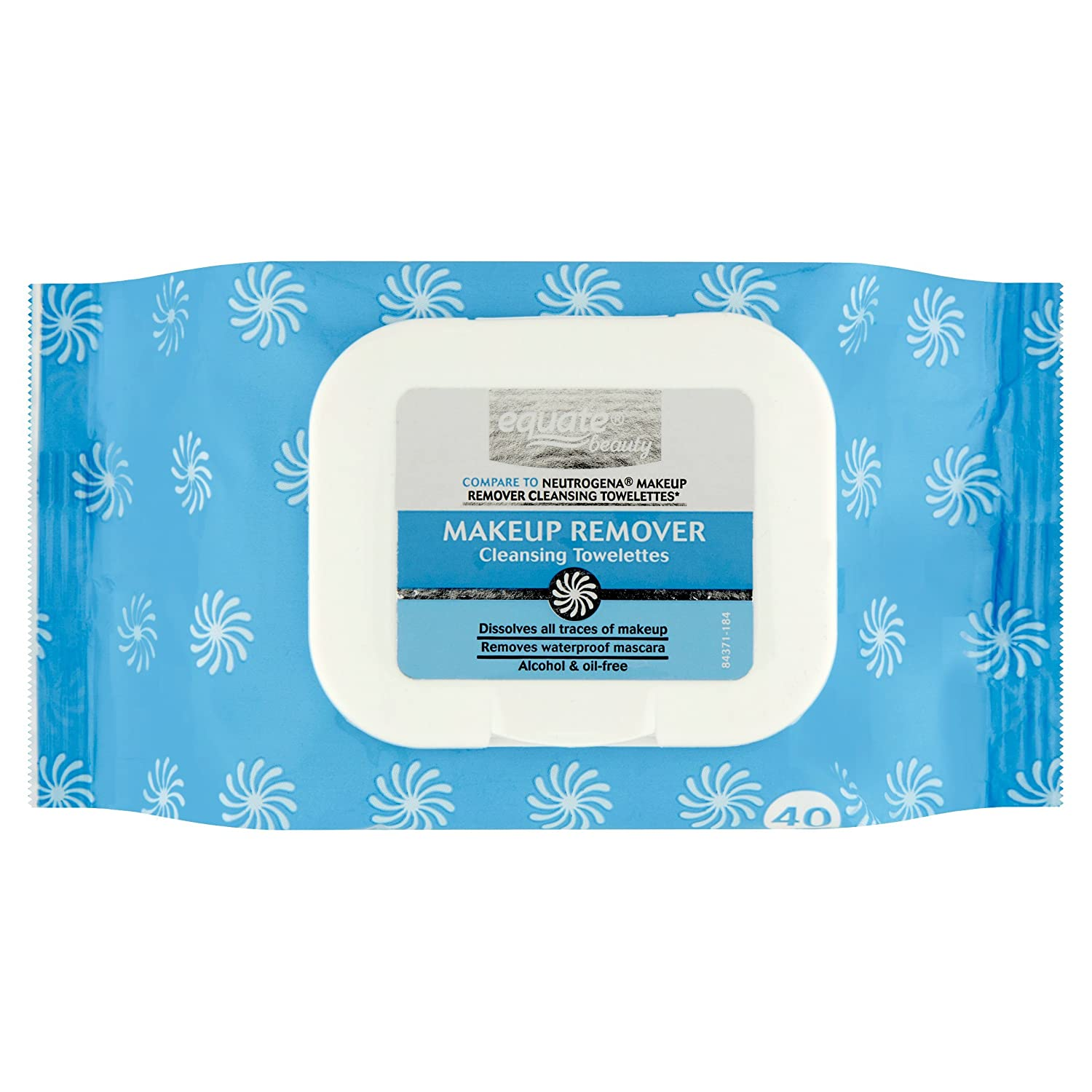 Equate Makeup Remover Cleansing Towelettes 80 Count
