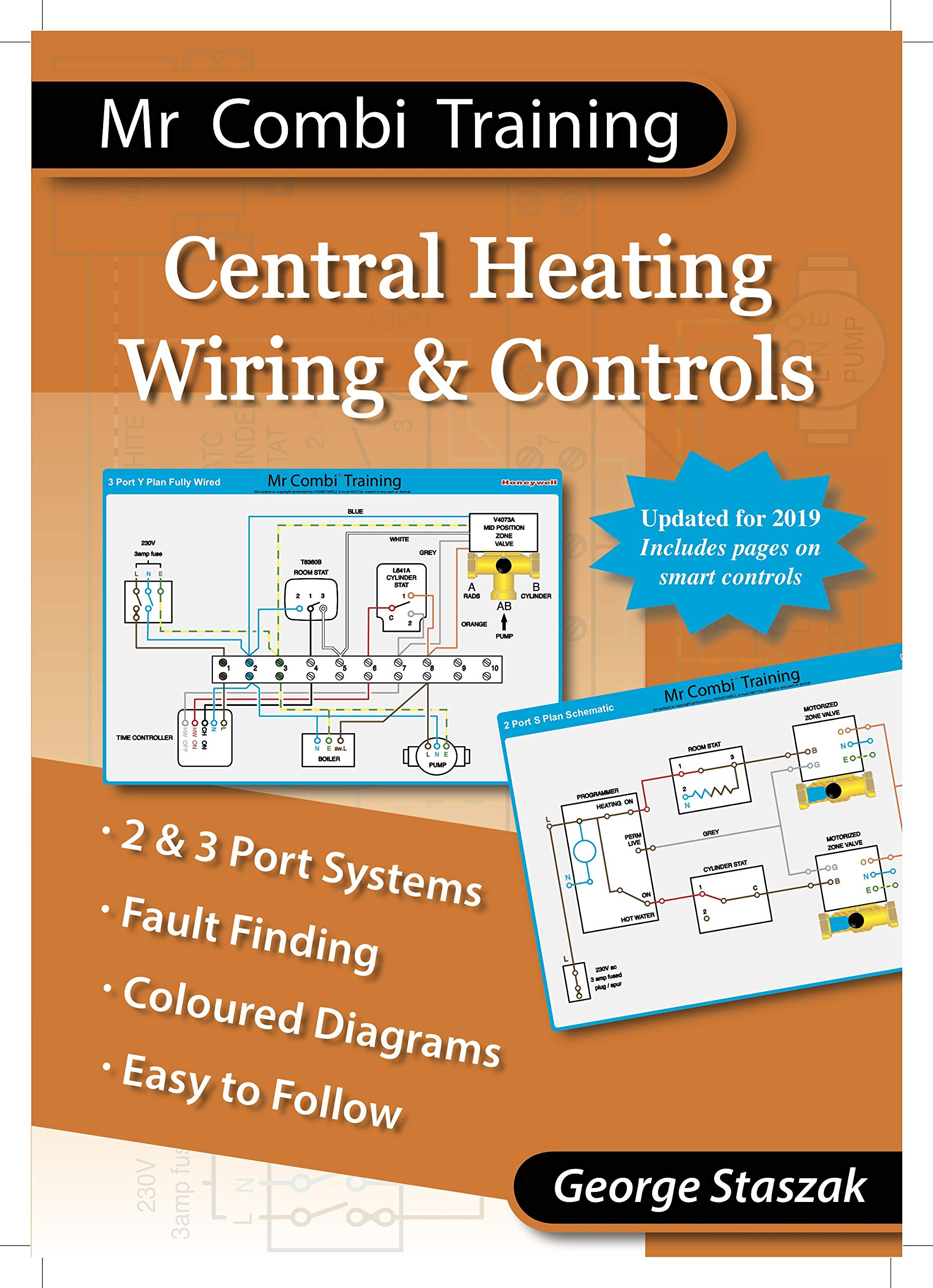 Marvelous Central Heating Wiring Controls Amazon Co Uk George Staszak Wiring Digital Resources Indicompassionincorg