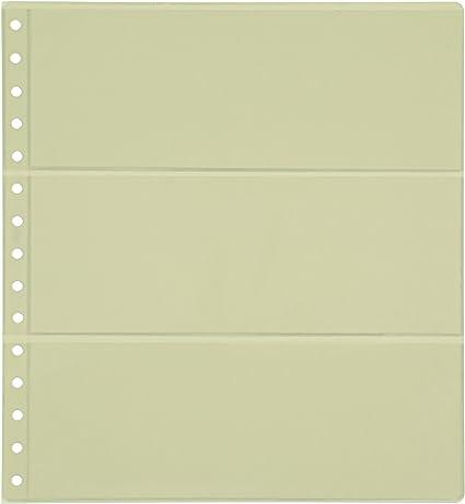 Pardo 102300 - Pack de 10 fundas transparente, 3 departamentos: Amazon.es: Oficina y papelería