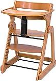 日本育児 ベビーチェア たためる木製スマートハイチェア3 ナチュラル 6ヶ月~60kg対象 スッキリ折りたためる、やさしいぬくもりの木製ハイチェア