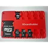 Micro Sd Card Holder-RED