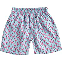 Madjtlqy Toddler Baby Boys Shorts Camouflage Palm Tree Printing Swim Trunks Summer Beach Short Pants