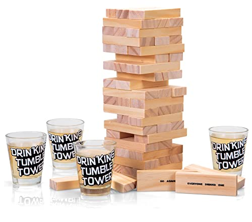 La torre en versión para beber - Juegos para beber