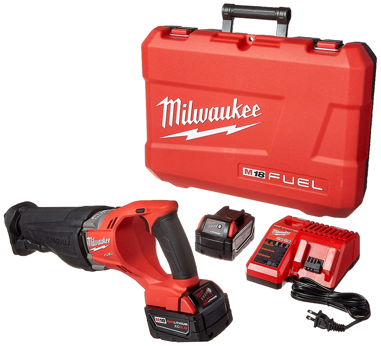 Milwaukee 2720-22 M18 Fuel Sawzall 2 Bat Kit