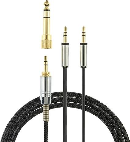 1.2m Sol Republic Audio Cable for Master Tracks HD V8 V10 V12 MFI X3 Headphones