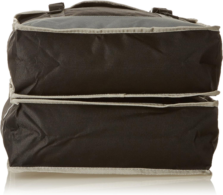 Black//Grey Dunlop Bicycle Bag double PES
