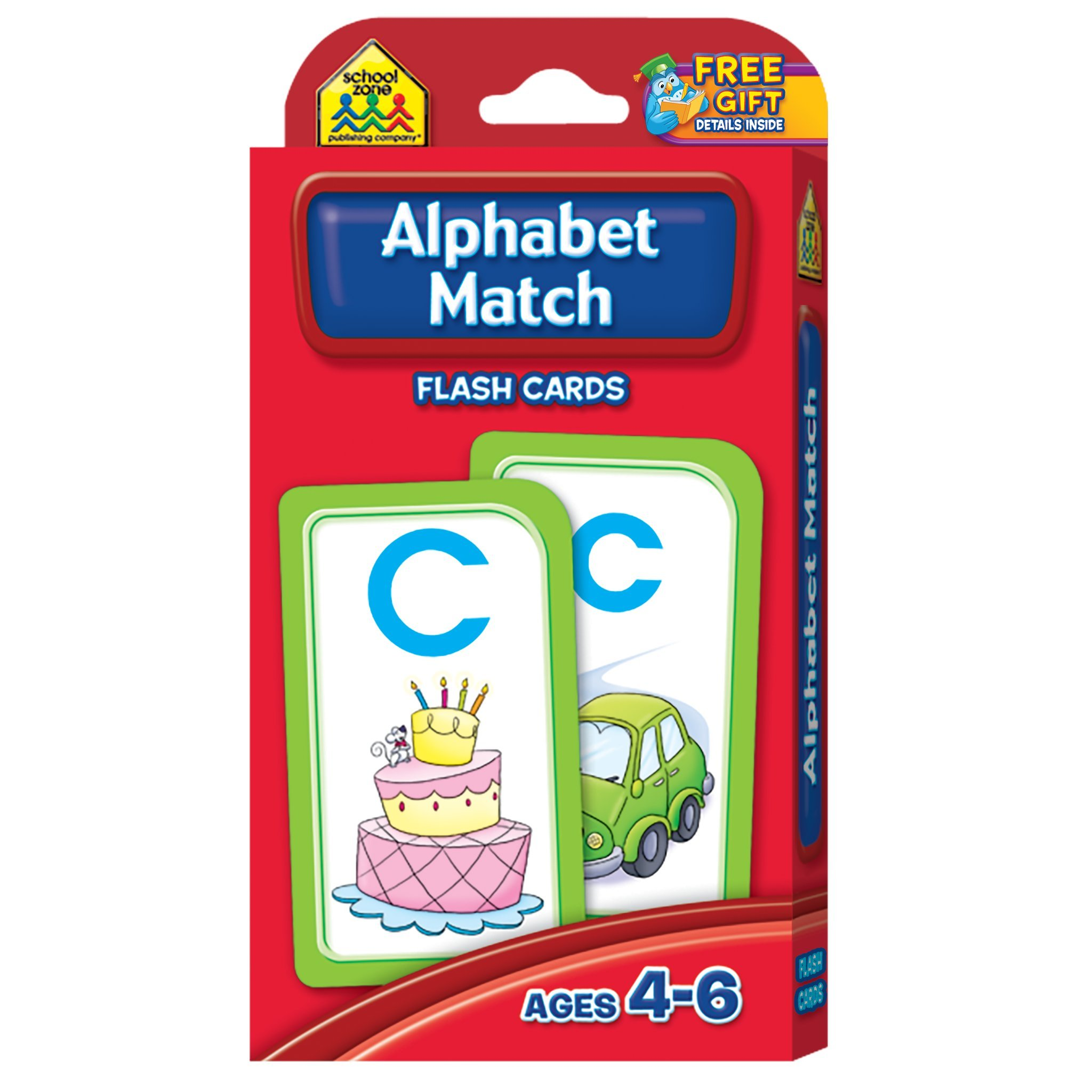 Alphabet Match Flash Cards ABC Learning Game For Kids Toys Set
