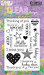 Hero Arts Year Round Sentiments OWH Polyclear - Juego de Sellos