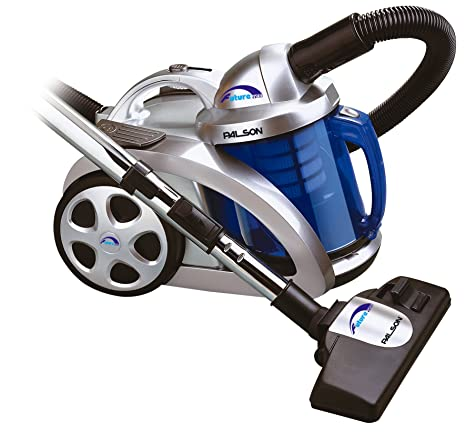 Palson - Aspirador Sin Bolsa 30486 Future 2200 3Filtros, Filtro Hepa, 1800W, Cable 5.4M, Aspira Líquid