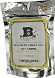 Beesworks® (6) 1oz Yellow Beeswax Bars - Package of (6) 1oz bars (6oz) - 100% Pure, Cosmetic Grade, Premium Quality, For Many Uses