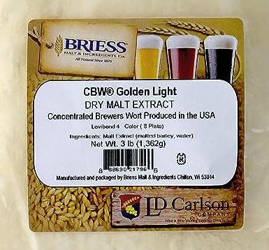 Amazon.com: Briess - Extracto de malta seca y liviana ...