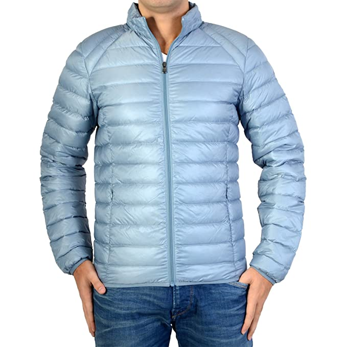 Abajo chaqueta Jott Hombre 3900Mat Mathieu Básica Azul Gris ...