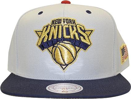 performance sportswear exquisite style on feet at Amazon.com : Mitchell & Ness NBA USA 2 Tone Gold Logo Adjustable ...
