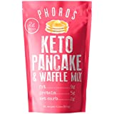 Keto Pancake & Waffle Mix by Phoros Nutrition, Low Carb, High Protein, Low Glycemic, Keto Friendly, Gluten Free, Just…