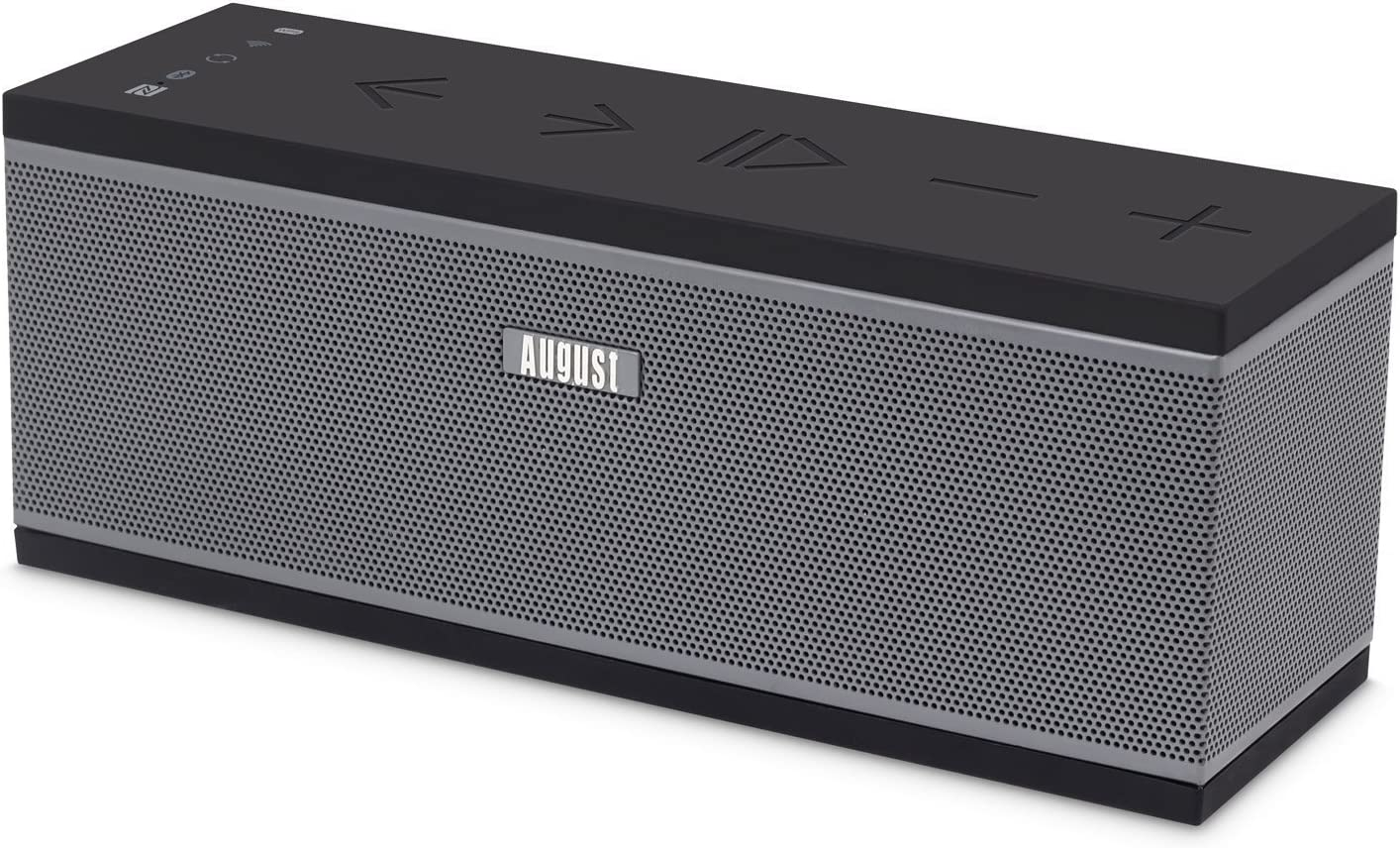 Altavoz inalámbrico multiroom Wi-Fi - August WS300G - 15 W (Wi-Fi/Airplay/Bluetooth/USB)