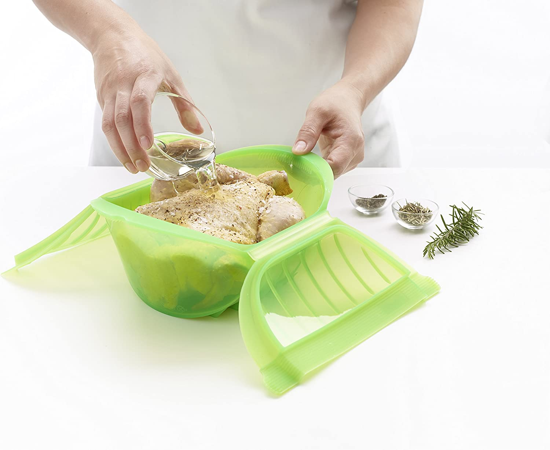 Amazon.com: Lekue Ogya Salsa Pan, Verde: Kitchen & Dining