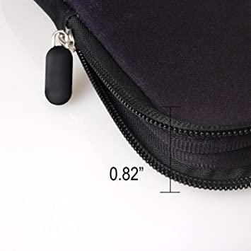 Waterproof Neoprene Soft Carrying Case Cover Bag with Handle for 13.3 13.5 14 14.1 14.5 15 15.2 inches Apple MacBook//Asus//Acer//Samsung//DELL//HP//Lenovo//Sony//RCA BRILA 15 inch Laptop Sleeve Tote Bag