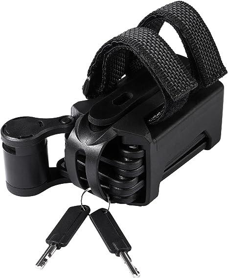 Cube RFR candado Plegable - Candado Bicicleta - Negro Longitud ...
