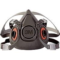 3M Half Facepiece Reusable Respirator 6300/07026(AAD), Respiratory Protection, Large (Pack of 1)