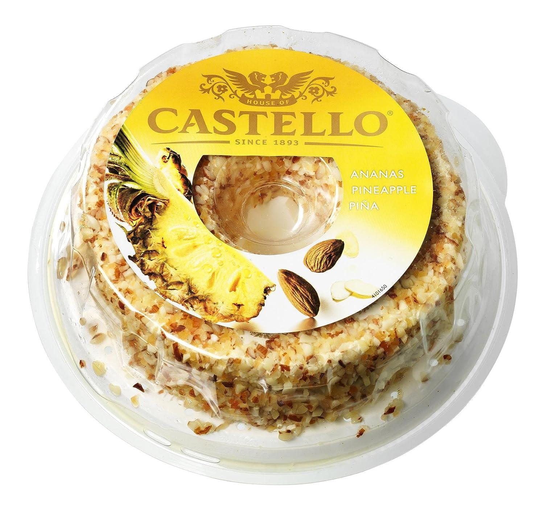 Castello, Mezcla de quesos envasadas (Piña) - 125 gr.: Amazon.es: Alimentación y bebidas