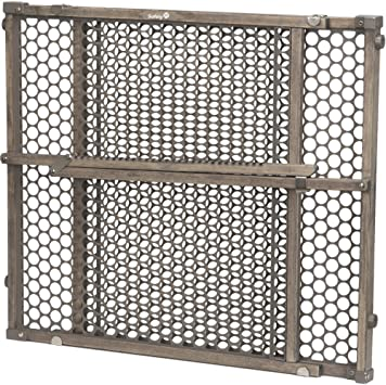Safety 1st GA112GRY0300 Grey Wood Security Gate