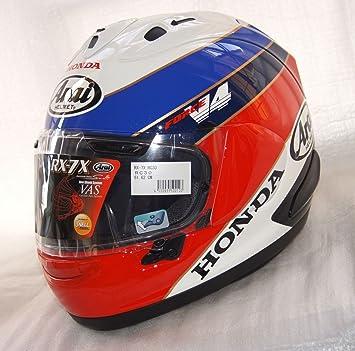 XS 54 cm Arai rx7-v Honda VFR750R RC30 VFR400 NC30 casco casco de 30º