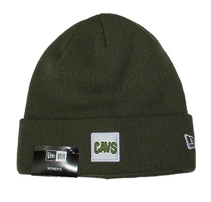 Cleveland Cavaliers New Era Women s Cuff Knit Beanie One Size Hat Cap -  Olive fec026b185d4