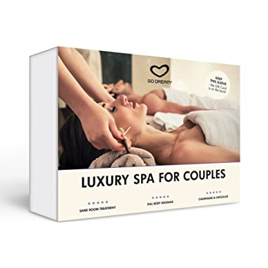 Luxury Spa for Couples in New York Experience Gift Card NYC - GO DREAM - Sent in a Gift Package
