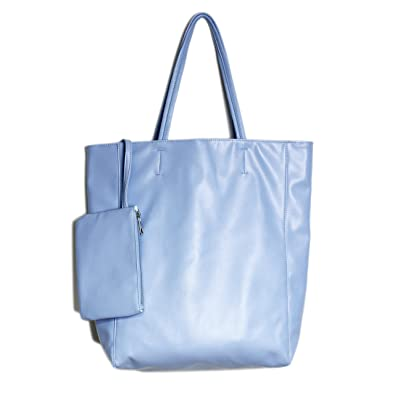 WORTHTRYIT Women s Stylish Waterproof Tote Bag Tote Bag Floppy Shopping  Travel Bag 16.7 quot  With Little 5d6e86722c9a5