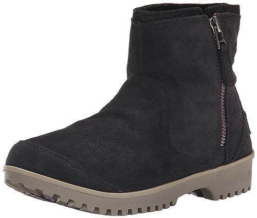 Meadow Zip - Botas para Mujer, Color Negro (10), Talla 39 Sorel