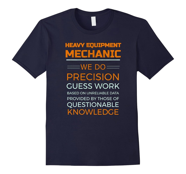 Heavy Equipment Mechanic Diesel Logging T-shirt-Art