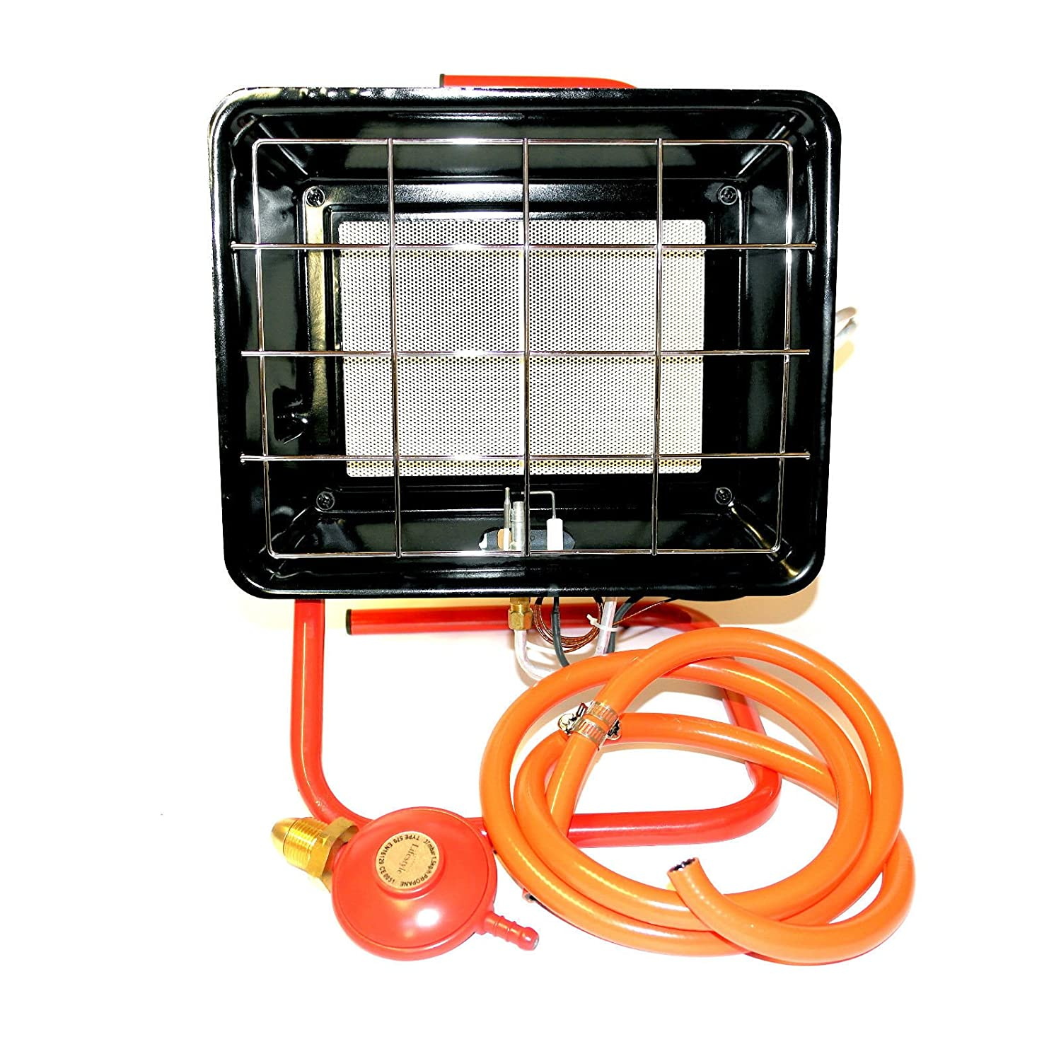 Lifestyle 3.5kw Workshop Site Gas Heater With Pilot Flame Fail Safety Device & ignition