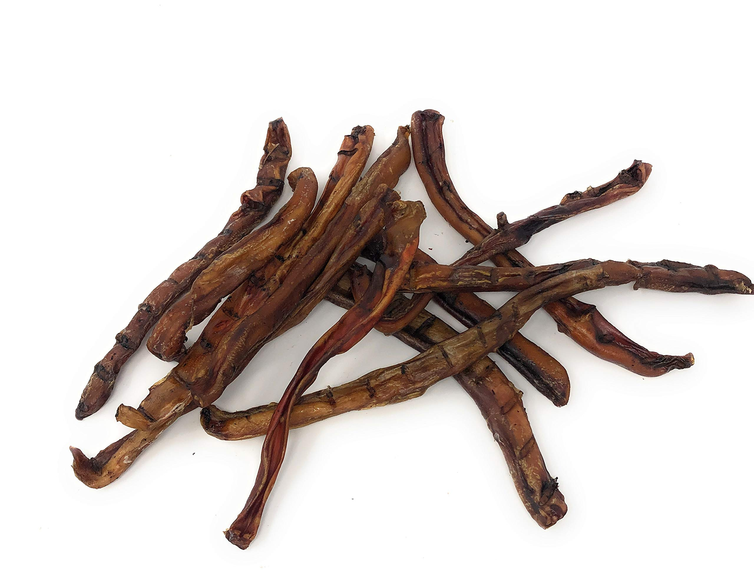 100% All Natural Beef Bully Sticks- Premium Grass Fed Beef Dog Chews- Smoked, Healthy Bully Sticks – Sourced and Made in The USA- No Additives or Artificial Preservatives- 12 Pack of 6-8 Inch Sticks by Jack's Premium (Image #1)