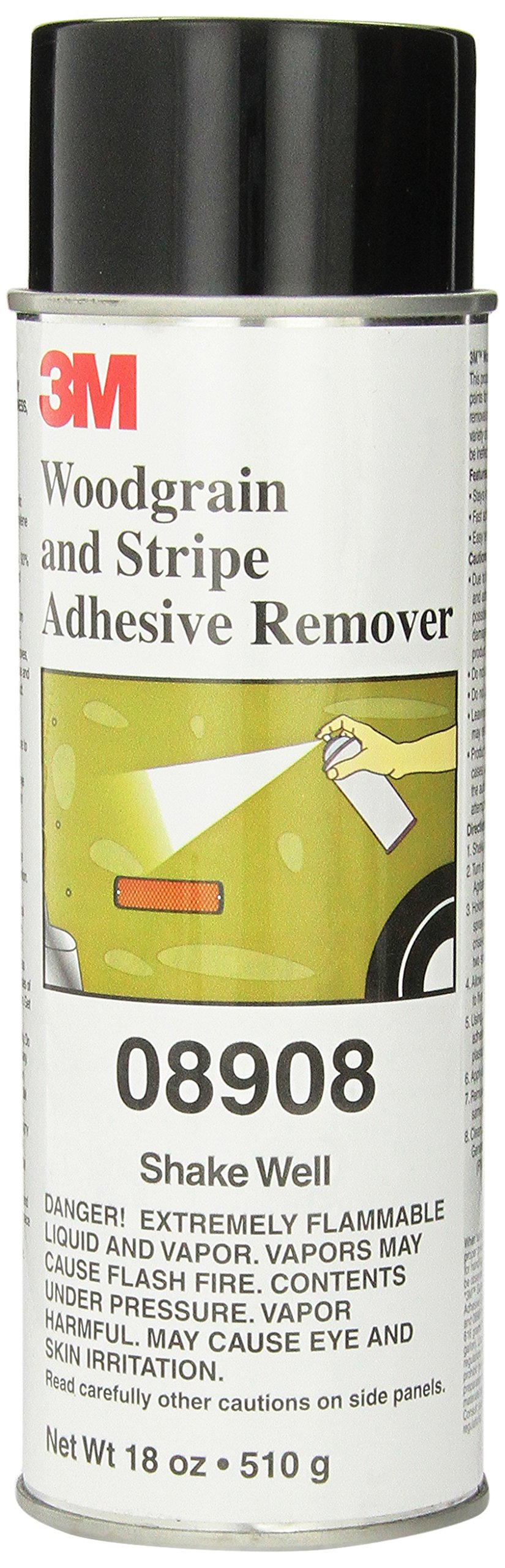 3M 08908 Woodgrain and Stripe Adhesive Remover - 18 fl. oz. product image