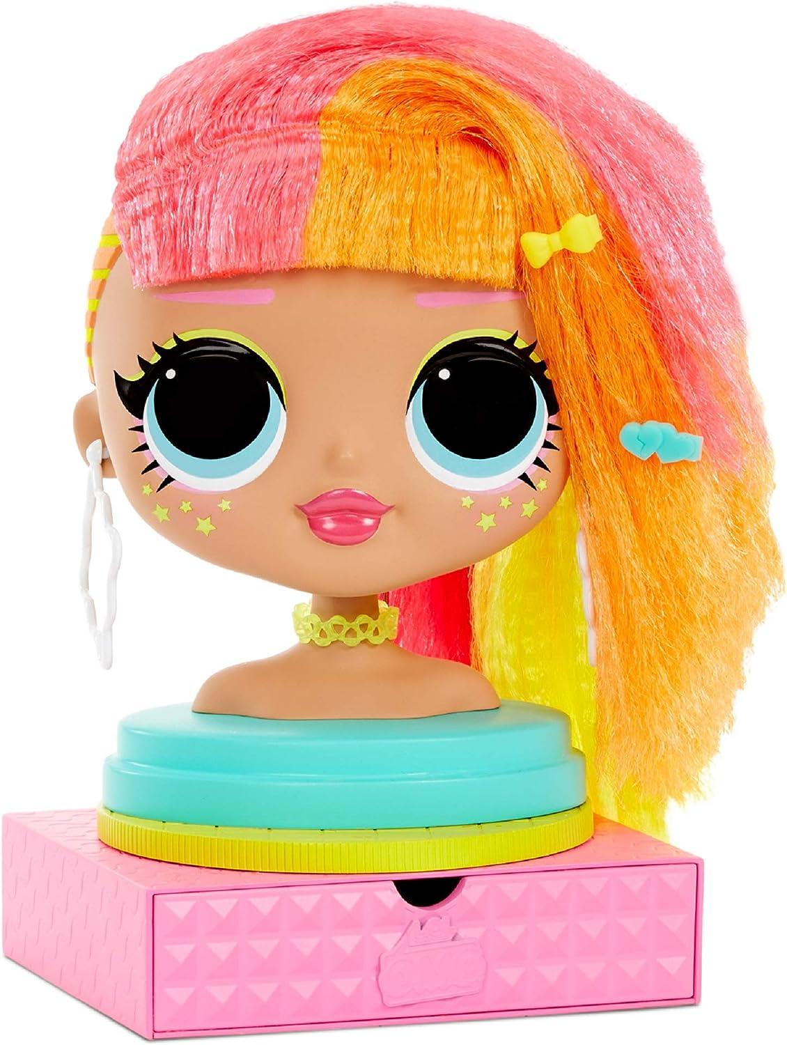LOL Surprise doll accessories orange wrist sweatbands set of 2