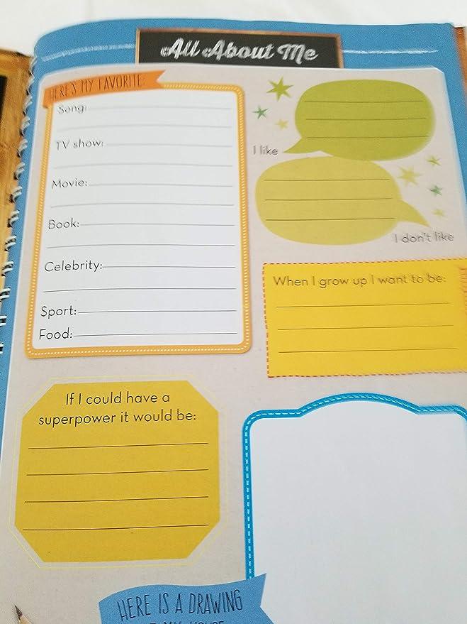 Amazon.com: My School Years Journal - Jardín de infancia ...