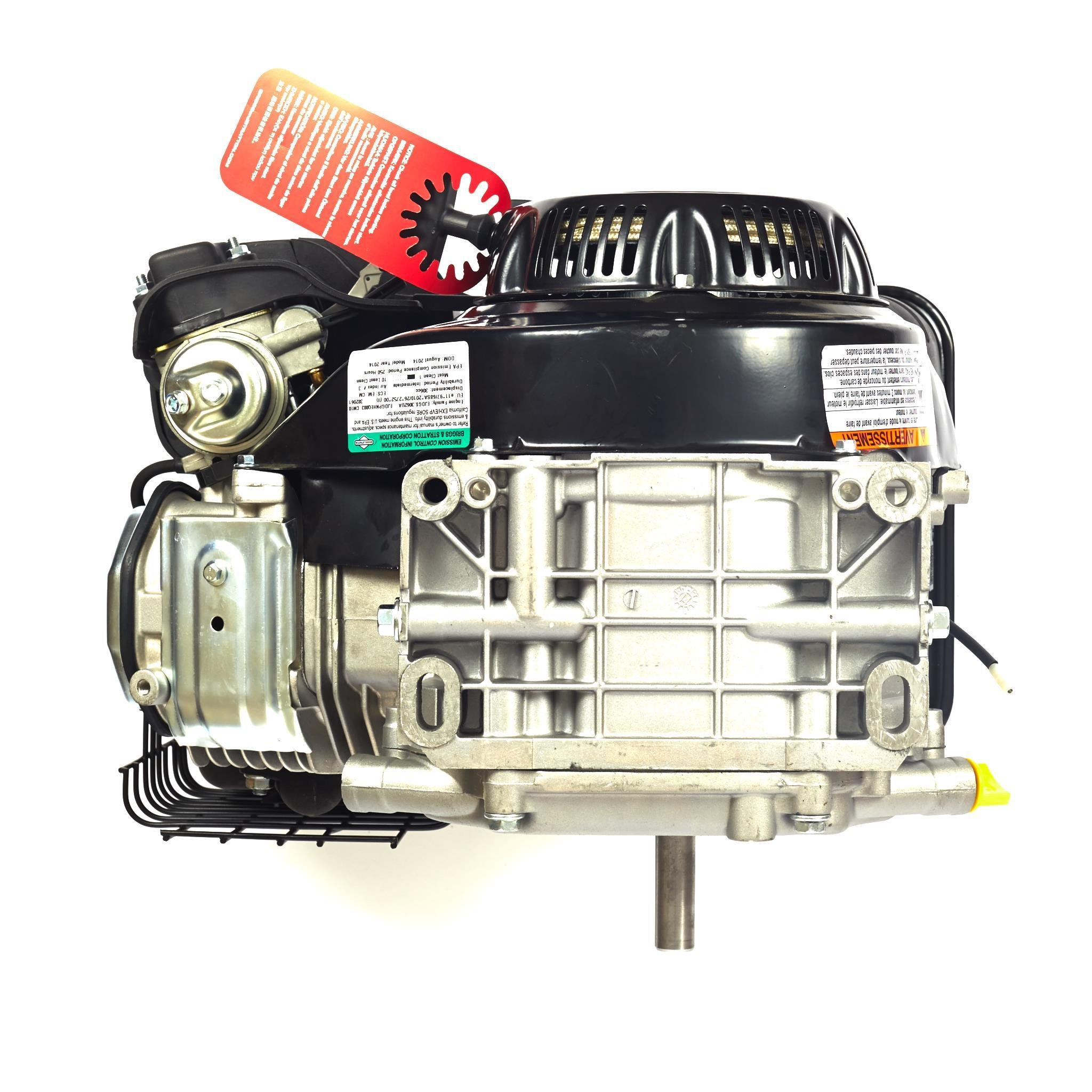 Briggs & Stratton 1450 Series Horizontal OHV Engine - 306cc, 3/4in  x  2 51in  Shaft, Model# 19N132-0051-F1