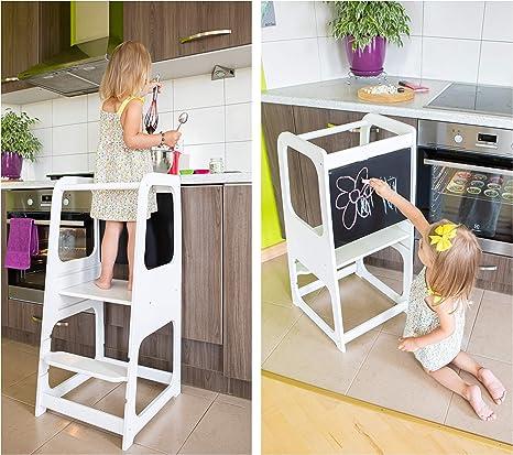 Torre de Aprendizaje Montessori - Plataforma de Madera para Trepar ...