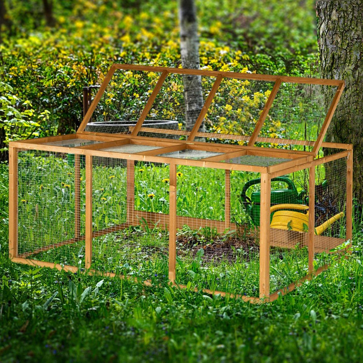 the hutch company freilaufgehege f r hasen kaninchen 183 cm g nstig. Black Bedroom Furniture Sets. Home Design Ideas