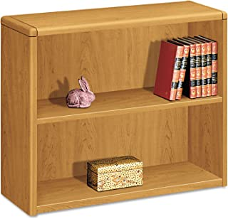 product image for HON 2-Shelf Bookcase, 36 by 13-1/8 by 29-5/8-Inch, Harvest