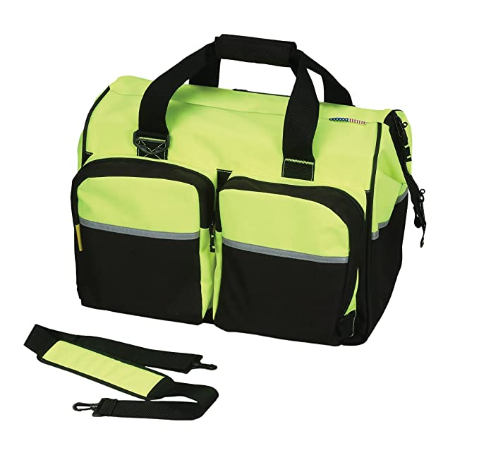 Safety Depot High Visibility Backpack with Shoe Compartment, Headphone Jack Opening, Wet & Dry Storage - - Amazon.com