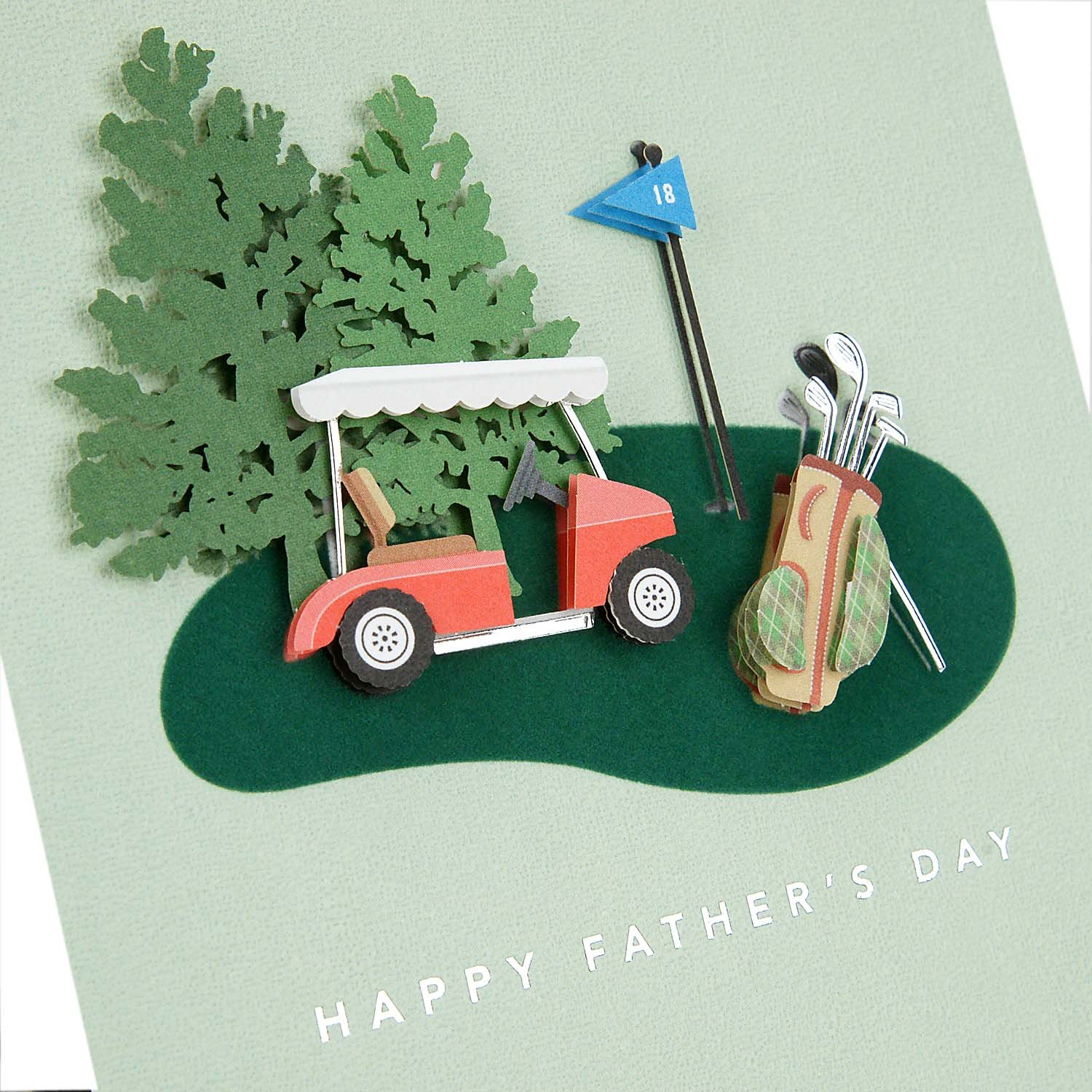 Hallmark Signature Fathers Day Card for Dad Fishing Boat