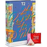 T2 Tea 24 Reasons to Smile: Tea Bag Advent Calendar for Christmas 2021, Countdown to Christmas, 24 Assorted Teabag Sachets, B